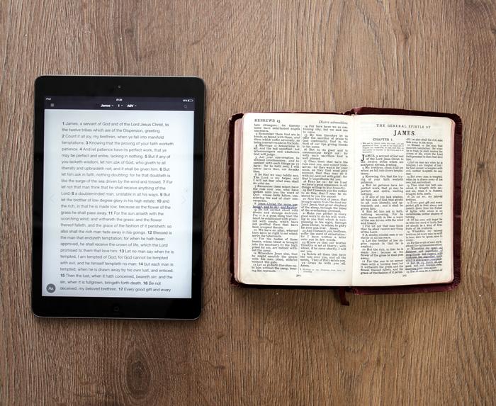 Bible & iPad
