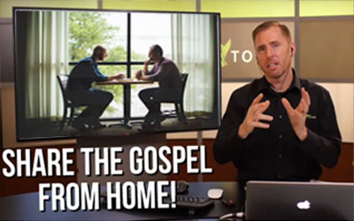 Share the gospel from home